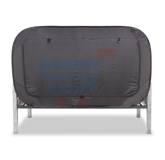 Privacy Pop Bed Tent Part - 23: ... Privacy POP Bed Tent, With Double Sided Zippers - Black ...
