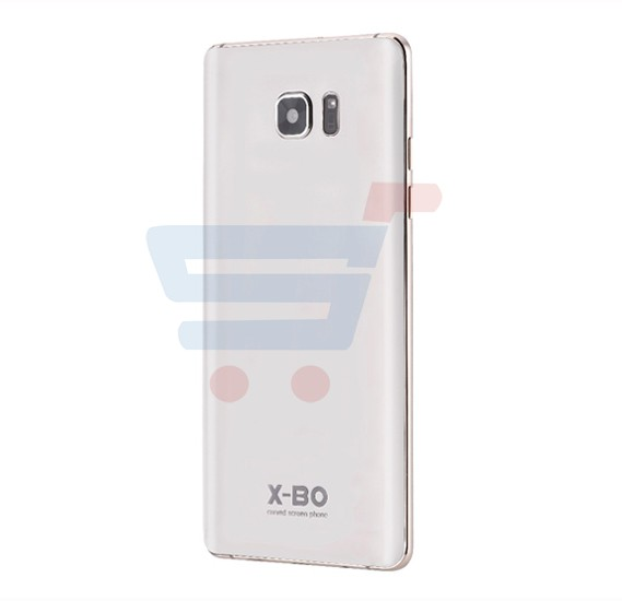 X-BO Super 10 4G  Smartphone, Android OS, 6.0 Inch Display, 2GB RAM, 32GB Storage, Dual SIM, Dual Camera, Dual Flash, Quad Core 1.5GHz Processor- White