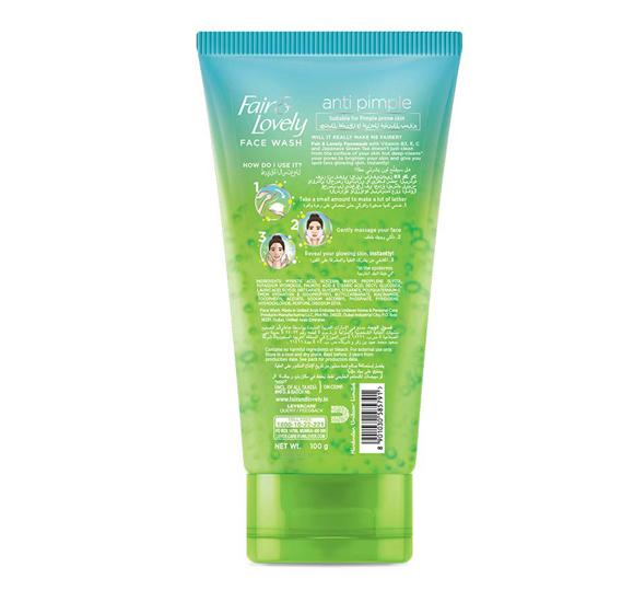 Fair & Lovely Pimple Clear Face Wash 150ml