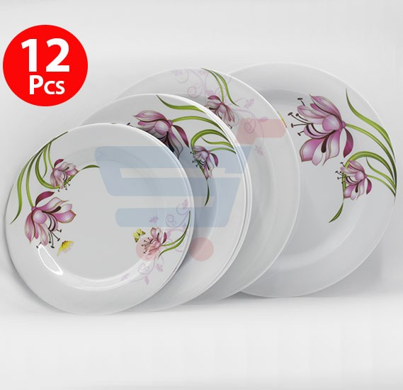 12pcs Melamine Dinner Set - PX1075