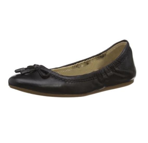 Hush Puppies Ladies Sandals Black Leather, Size 5, Hw06056-001