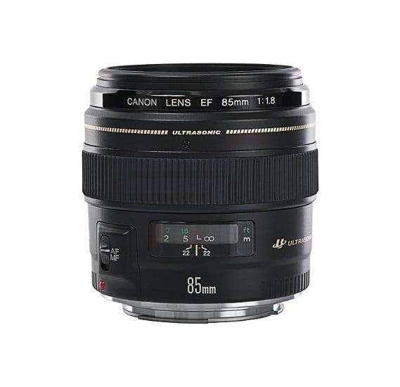 Canon EF 85mm f/1.8 USM Prime Lens for Canon DSLR Cameras
