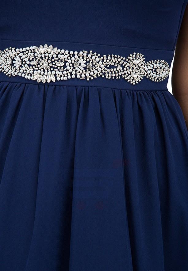 TFNC London Cami Midi Formal Dress Navy - CTT 6065 - XXL