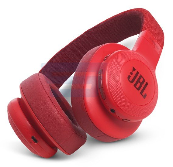 JBL Over-Ear Bluetooth Stereo Wireless Headphone E55BT Red
