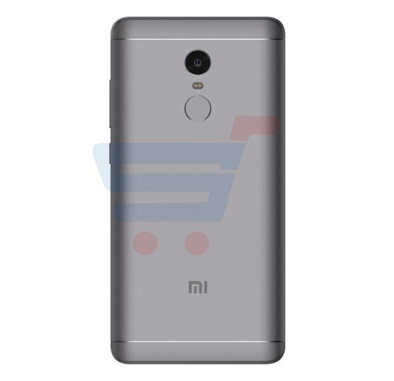 Xiaomi Redmi Note 4 Smartphone, Android, 5.5 inch Display, 3GB RAM, 32GB Storage, Fingerprint Sensor, Dual SIM, Dual Camera- Grey