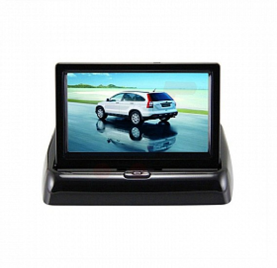 Car Dash Board Foldable Monitor 4.3 Screen - TBS01916