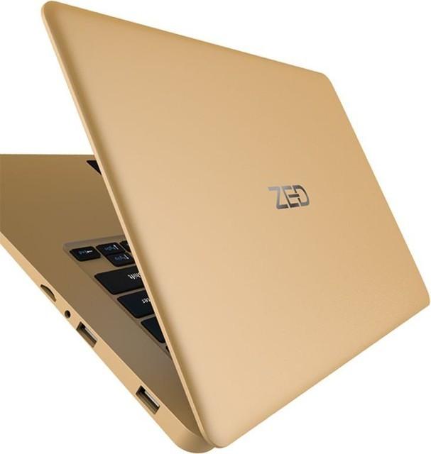 Zed Air H Laptop With 14.1-Inch Display, Intel Atom Cherry Trail Z8350 Processor/2GB RAM/32GB SSD +500GB HDD/Intel HD Graphics/English Gold