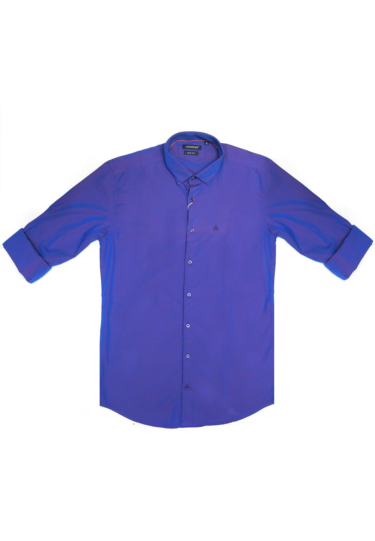 Address Formal Shirt Slim Fit Blue