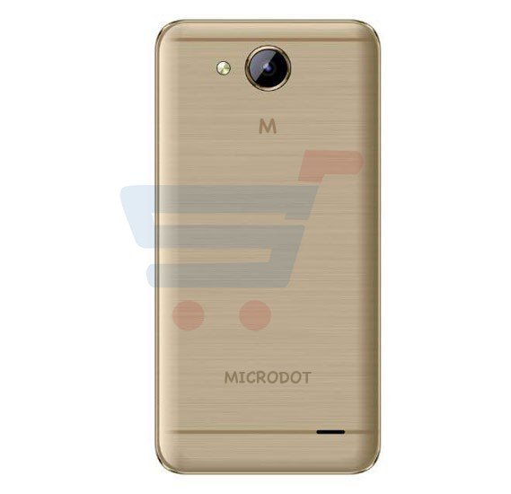 Microdot MD-03 Smartphone, Android 5.1 (Lollipop), 5.0 inch HD LCD Display, 1GB RAM, 16GB Storage, Dual Camera - Gold