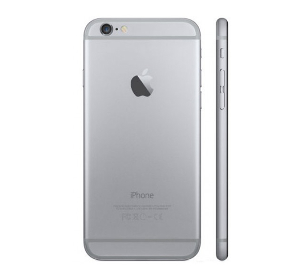 Apple iPhone 6 Smartphone, iOS8, 4.7 Inch HD Display, 1GB RAM, 16 GB Storage, Dual Camera, Wifi (Activated) - Grey