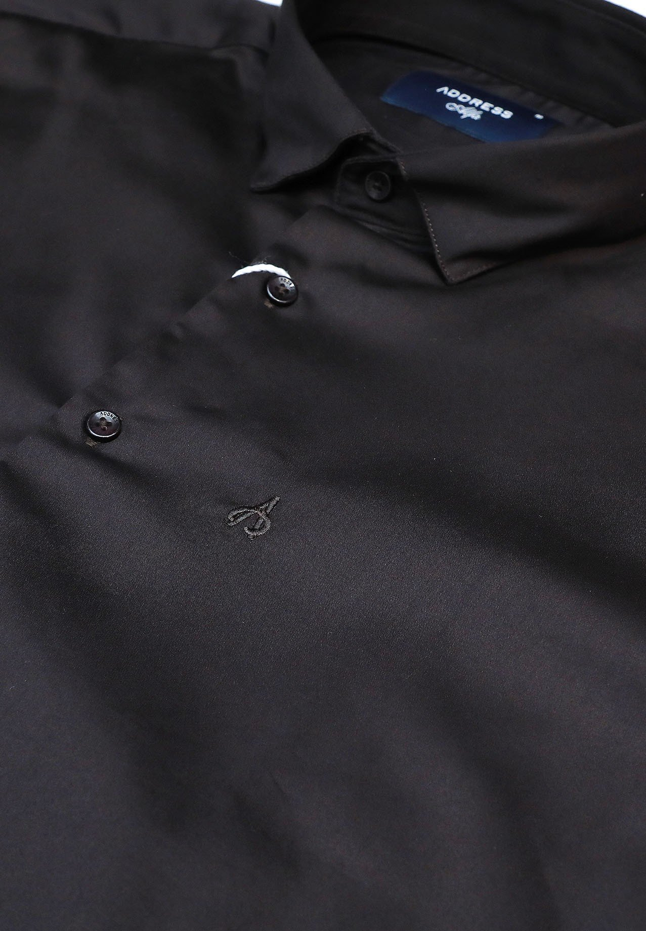 Address Formals Shirt Black, XL
