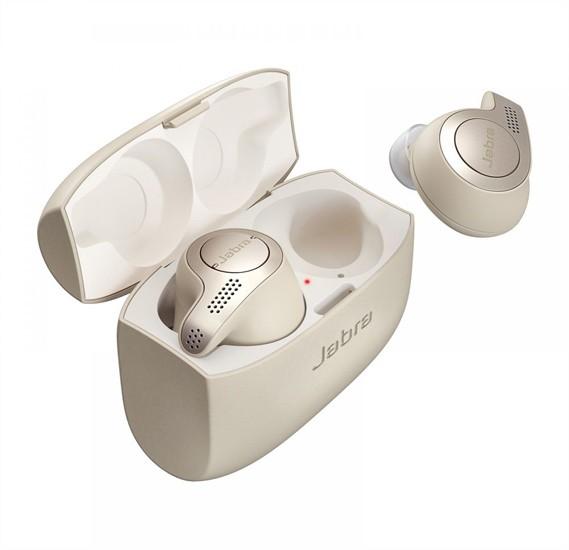 Jabra Elite 65T Wireless Bluetooth Earbuds - Gold