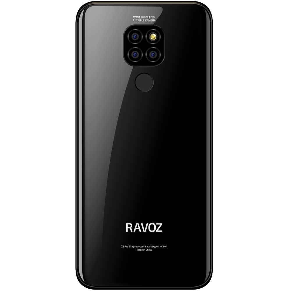 Ravoz Z3 Pro Dual SIM Classic Black 3GB RAM 64GB Storage 4G LTE