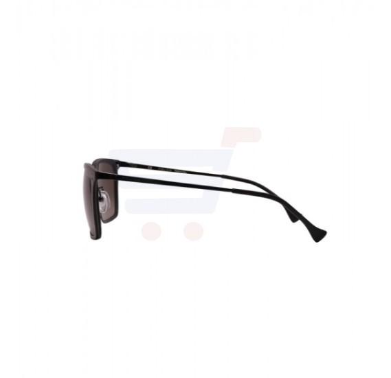 Police Wayfarer Black Effect Fabric Pattern Frame & Brown Gradient Mirrored Sunglasses For Men - SPL154N-0AG5