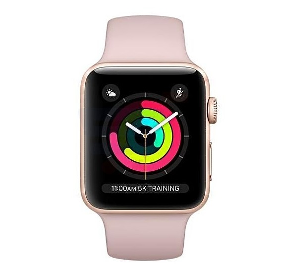 Apple Watch Series 3-38MM MQKW2 Gold with Pink