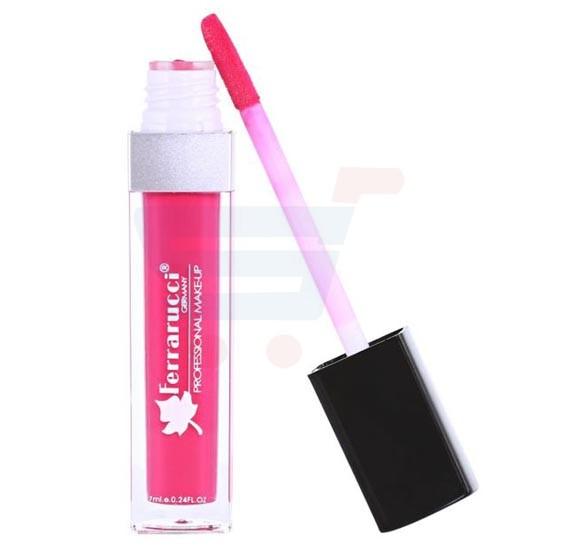 Ferrarucci Matte Long Lasting Lip Gloss 7ml, FLC01