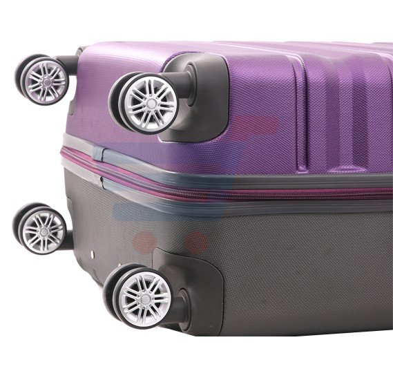 Para John 28 Inch Trolley Luggage, Purple- PJTR3079
