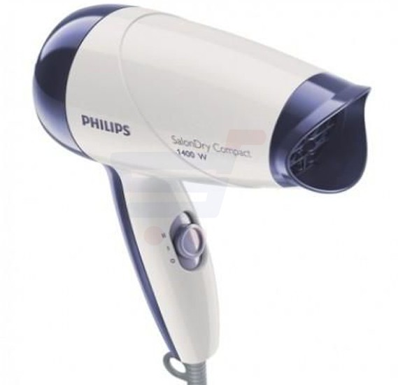 Philips HP8103 Dry Compact Salon Hair Dryer White