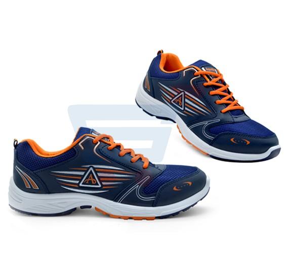 Aqualite J-54 Sports Wear Shoes For Men Size UK-6 Navy Blue/Orange