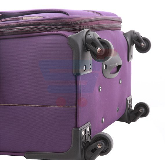 Para John 24 Inch Trolley Luggage, Purple- PJTR3040
