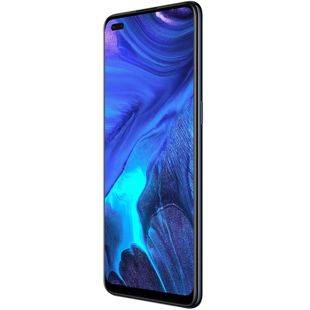Oppo Reno4 Dual SIM, 8GB RAM 128GB Storage, 4G LTE, Space Black