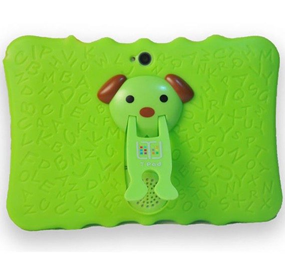 T-pad 260 Kids 7 Inch Tablet,Quard Core,1GB Ram 8 GB storage,Wifi,Bluetooth,Andriod 6.0, Touch Green color,T260
