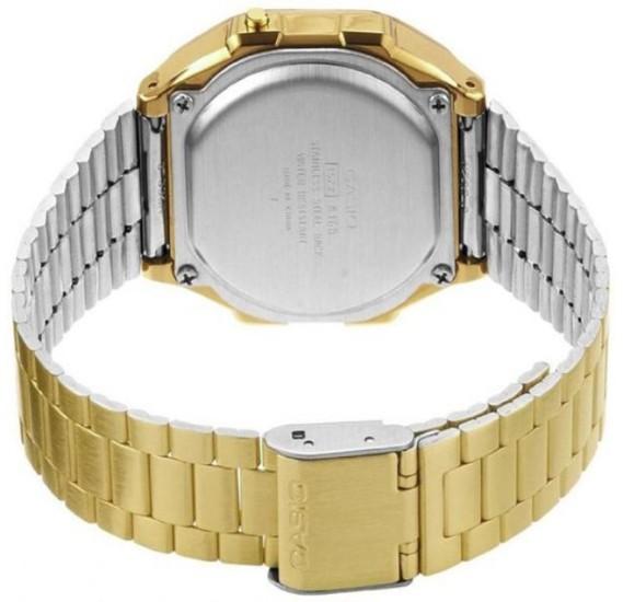 Casio Unisex Casual Digital Watch Gold,A168WG-9DF