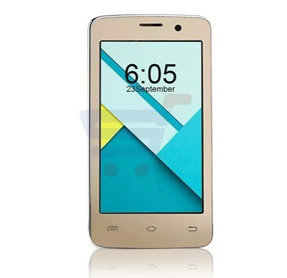 Enet T5 Mini 3G Smartphone,Android OS,4.0 Inch LCD Display,Dual Camera-Gold & Get Leather Cover Free