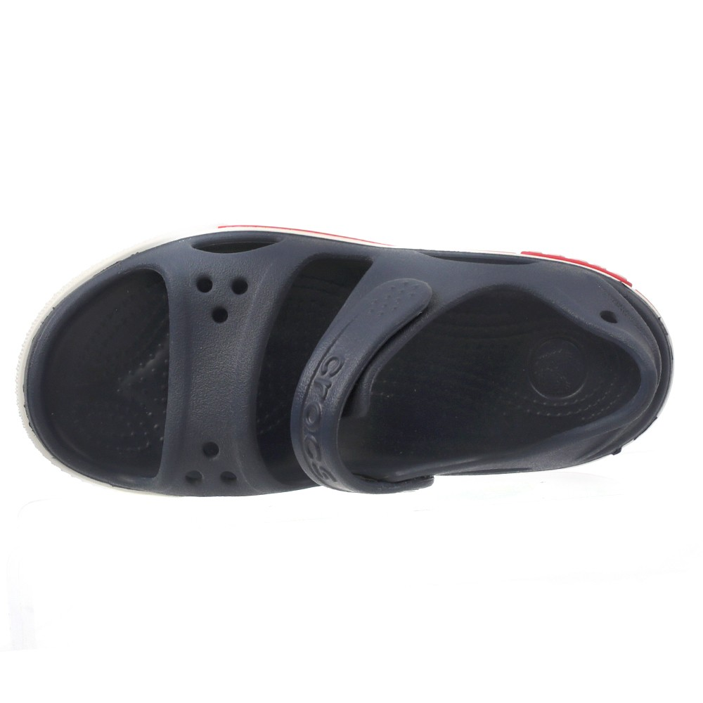 Crocs Kids Clogs Sandals Crocband LI Sandal PS Navy/White, Size  29