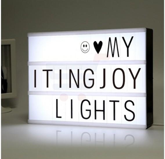 Eazy Kids Letter Light Box A3