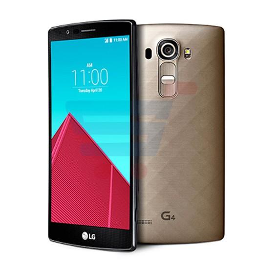 LG G4 Smartphone, Android 5.1, 5.5 Inch Display, 3GB RAM, 32GB Storage, Dual Camera, Dual Sim, Wifi- Gold