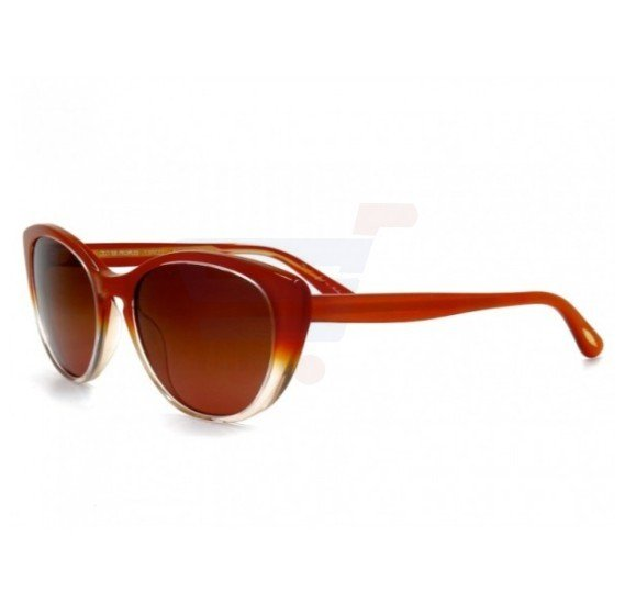Oliver Peoples Aviator Rust Shade Frame & Copper Shade Mirrored Sunglasses For Woman - 5239S-13695H