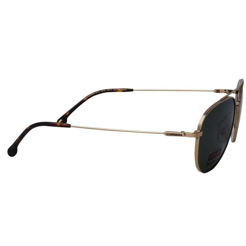 Carrera 187/S Aviator Polarized Sunglasses for Unisex Gold, Size 60