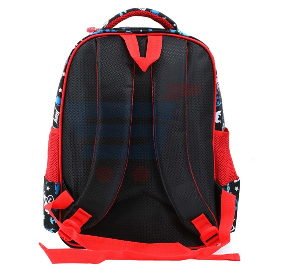 Para John 16 Inch School Bag, Red- PJSB6024