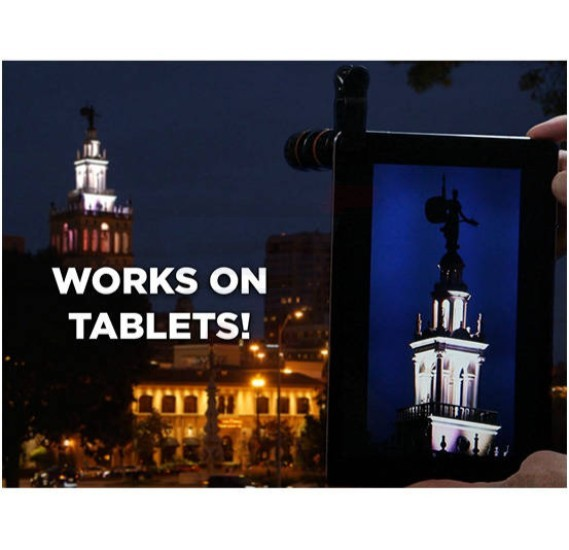 T&F Taczoom Universal 10X Optical Zoom Universal Mobile Phone