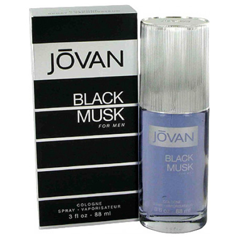 Jovan Black Musk by Jovan Cologne Spray for Men, 88ml