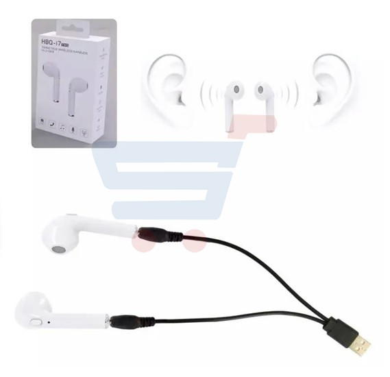 HBQ-i7 tws Double Side Wireless Bluetooth Mini Stereo Earphone With Mic