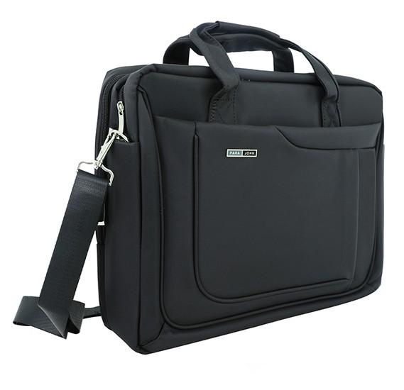 Para John 16-inch Laptop Bag - Black, PJLB8039A16