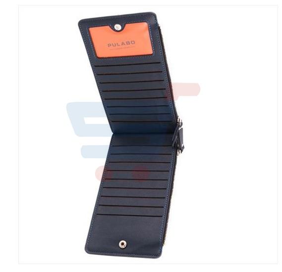 Men Wallet & 16 Cards Holder PU Waterproof Leather - HA066