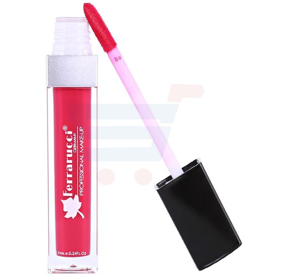 Ferrarucci Matte Long Lasting Lip Gloss 7ml, FLC07