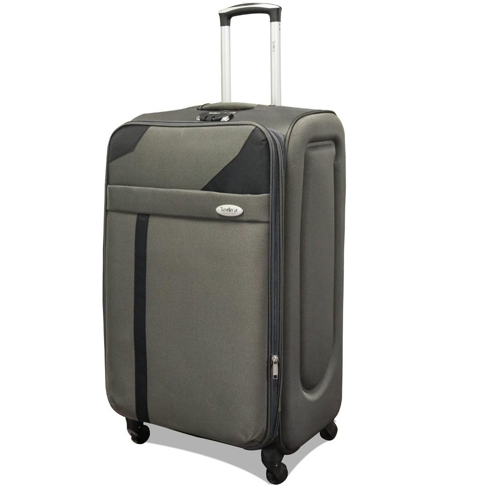 Traveller 4 Wheel Soft Luggage 3 pcs Set, TR-1028