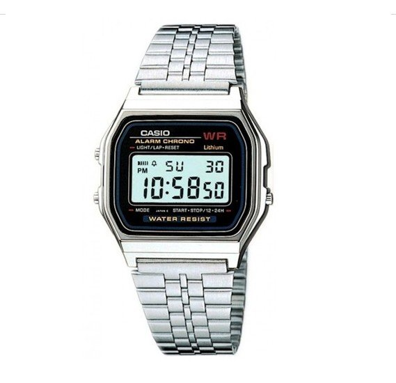 Casio A-159W-N1DF  Digital Watch , Silver