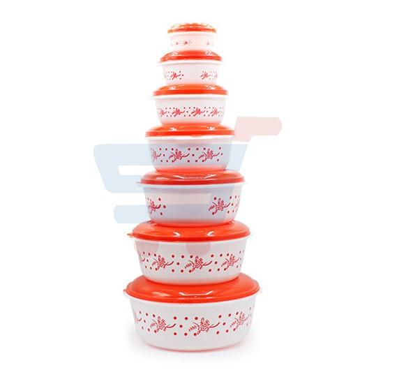 Solar 7 set Plastic Food Container
