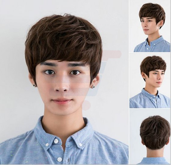 Fashion Cool Short Curly Wig, NF-10