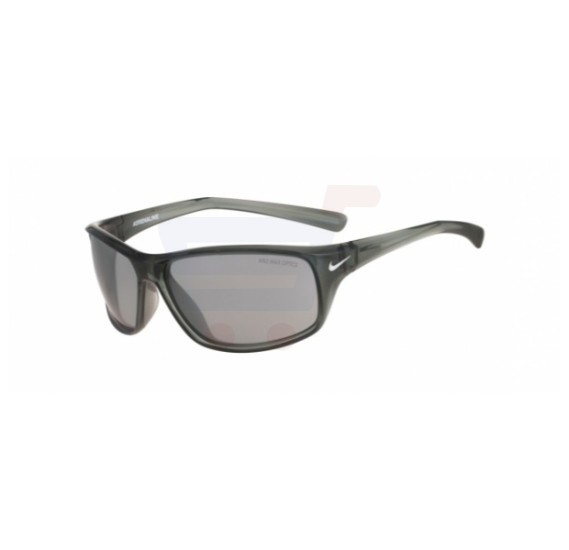 Nike Cat Eye Grey Crystal Frame & Grey Mirrored Sunglasses For Unisex - EVO605-011