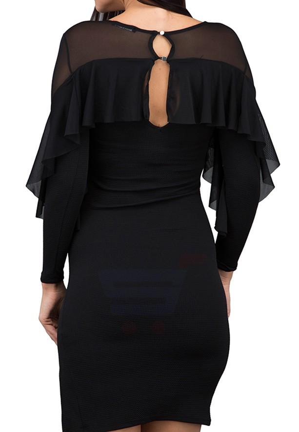 TFNC London Hailey Formal Dress Black - ANT 46470 - L