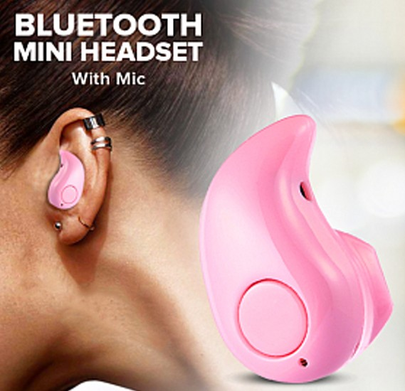 BSNL Bluetooth Headset B99, Pink