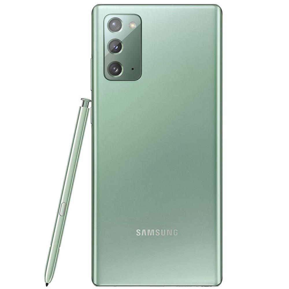 Samsung Galaxy Note20 Dual SIM 8GB RAM 256GB 4G LTE, Mystic Green