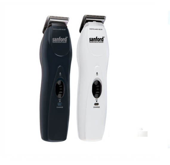 Sanford SF1965HC Rechargeable Hair Trimmer Black And White Combo