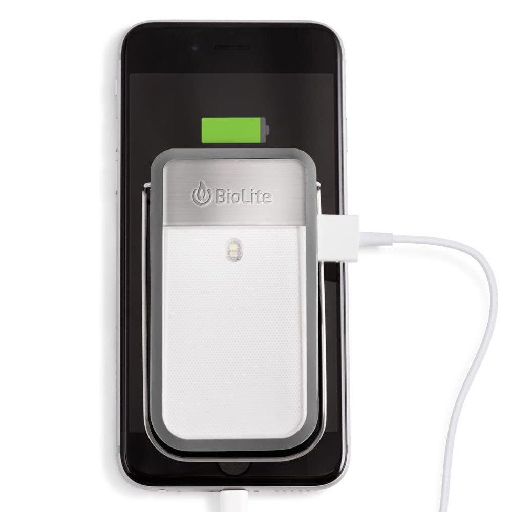 BioLite Power Light Mini Wearable Light and Power Bank, Grey